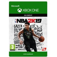 Code de t�l�chargement NBA 2K19 Xbox One