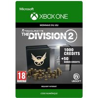Code de t�l�chargement Tom Clancy's The Division 2: 1050 Premium Credits Pack Xbox One