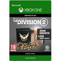 Code de t�l�chargement Tom Clancy's The Division 2: 2250 Premium Credits Pack Xbox One