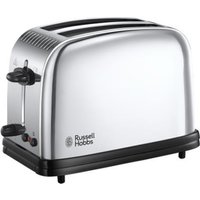 RUSSELL HOBBS Chester - Toaster (Edelstahl/Schwarz)