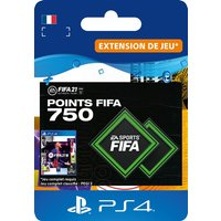 Code de t�l�chargement FIFA 21 Ultimate Team 750 Points Playstation