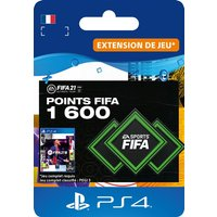 Code de t�l�chargement FIFA 21 Ultimate Team 1600 Points Playstation