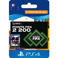 Code de t�l�chargement FIFA 21 Ultimate Team 2200 Points Playstation