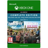 Code de t�l�chargement Pack Far Cry 5 + Far Cry New Dawn Edition Deluxe Xbox One