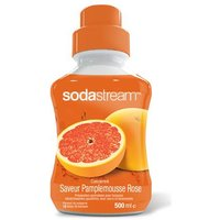 SODASTREAM Sirop Sirop Soda-Mix Pamplemousse Rose 500 ml