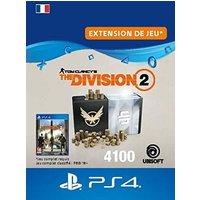 Code de t�l�chargement Tom Clancy's The Division 2 Pack de 4100 Cr�dits Premium PS4
