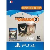 Code de t�l�chargement Tom Clancy's The Division 2 Pack de 2250 Cr�dits Premium PS4