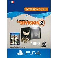 Code de t�l�chargement Tom Clancy's The Division 2 Pack de 1050 Cr�dits Premium PS4