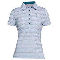 Under Armour Ladies Zinger Short Sleeve Novelty Polo Shirt