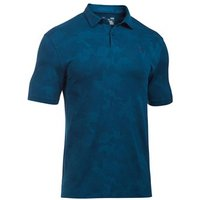 Under Armour Mens Threadborne Camo Jacquard Polo Shirt