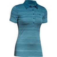 Under Armour Ladies Zinger Short Sleeve Novelty Polo Shirt 2017