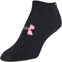 Under Armour Ladies Solid No Show Socks (6 Pack)