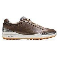 Ecco Mens Biom Hybrid Hydromax Golf Shoes (Cocoa Brown/Fanta)
