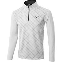 Mizuno Mens Breath Thermo Half Zip Pullover