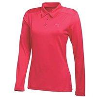 Puma Ladies Long Sleeve Polo Shirt