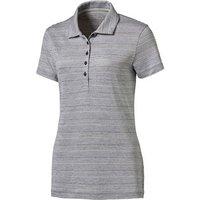 Puma Ladies Heather Stripe Polo Shirt