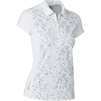 Daily Sports Ladies Marble Cap Sleeve Polo Shirt