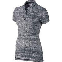 Nike Ladies Precision Zebra Print Polo Shirt