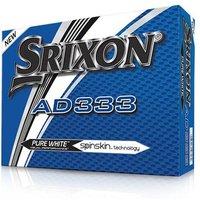 Srixon AD333 Golf Balls (12 Balls) 2018