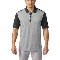 Adidas Mens ClimaChill Heather Stripe Polo Shirt