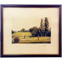 Arthur Weaver Golf Series Prints