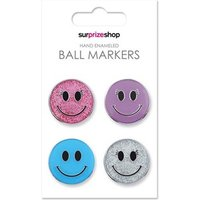 Smiley Ball Marker Set (4 Pack)