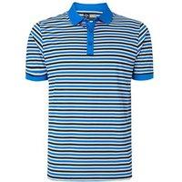 Callaway Mens Chev Striped Polo Shirt