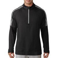 Adidas Mens 3- Stripes Quarter Zip Pullover