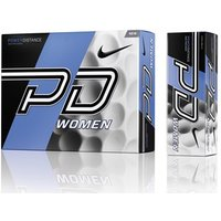 Nike Ladies Power Distance PD9 White Golf Balls (12 Balls)