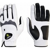 HIRZL Mens Hybrid Golf Glove