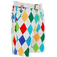 Royal and Awesome King Of Diamonds Golf Shorts