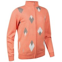 Glenmuir Ladies Savannah Cotton Zip Neck Sweater