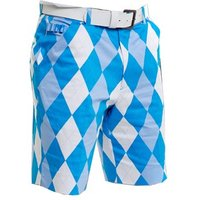 Royal and Awesome Mens Old Toms Trews Golf Shorts