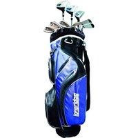 Vector Mens 12 Piece Golf Package Set (Steel/Graphite)