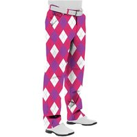 Royal And Awesome Back To The Fuchsia Golf Trouser