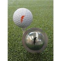 Tin Cup Ball Marker - Bolt