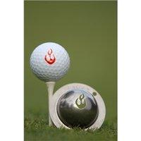 Tin Cup Ball Marker - En Fuego