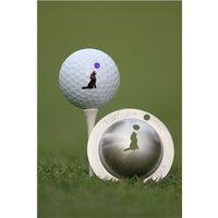 Tin Cup Ball Marker - Howl at the Moon