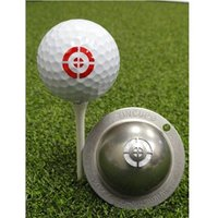 Tin Cup Ball Marker - Take Aim