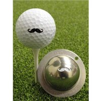 Tin Cup Ball Marker - Stache