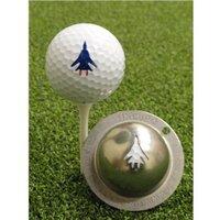 Tin Cup Ball Marker - Top Gun