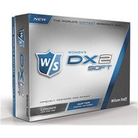 Wilson Staff Ladies DX2 Soft Golf Balls (12 Balls)