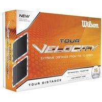 Wilson Tour Velocity Distance Golf Balls (15 Balls)