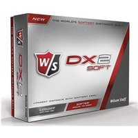 Wilson Staff DX2 Soft Golf Balls (12 Balls)