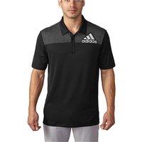 Adidas Mens Badge of Sport Dot Print Polo Shirt