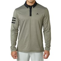 Adidas Mens Climawarm Long Sleeve Rugby Winter Polo Shirt