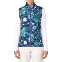 Adidas Ladies Printed Fleece Vest