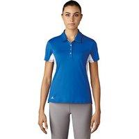Adidas Ladies Essentials 3 Stripes Short Sleeve Polo Shirt