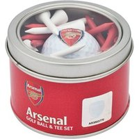 Arsenal Golf Ball And Tee Set