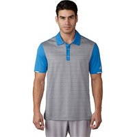 Adidas Mens ClimaChill Tri-Geo Print Polo Shirt